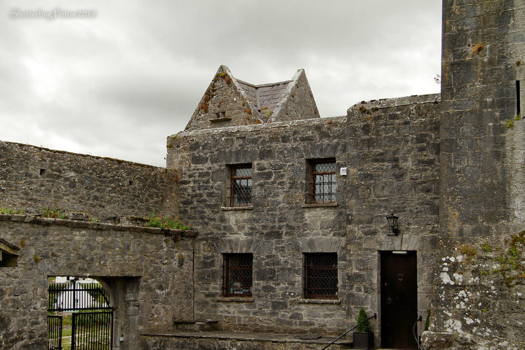 An inside structure look at the Dunguaire castle.