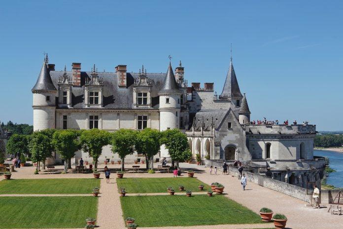 Summer in Château d'Amboise.