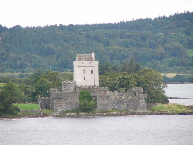 Doe Castle's view near Sheephaven Bay.