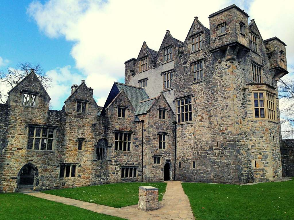 Probably the best view of the entire Donegal Castle with the entrances and most towers in view.