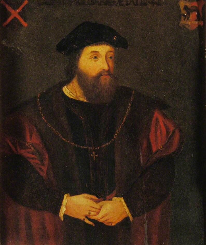 A portrait of Gerald Fitzgerald, the Earl of Kidare.