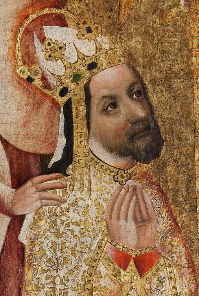 An image of King Charles IV of Bohemia.