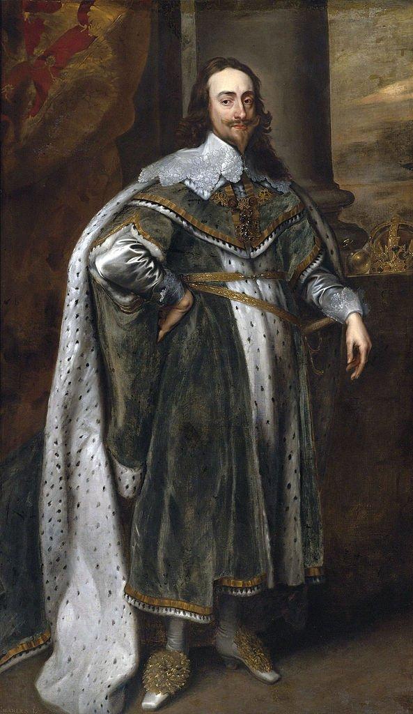 A portrait of Charles I of Scotland