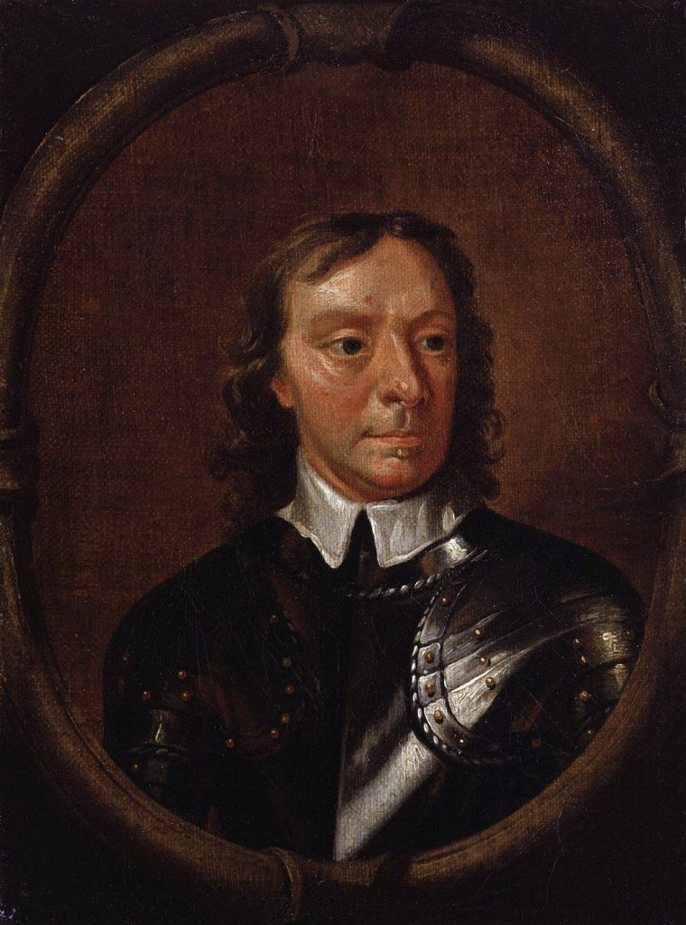 Oliver Cromwell's portrait by Samuel Cooper