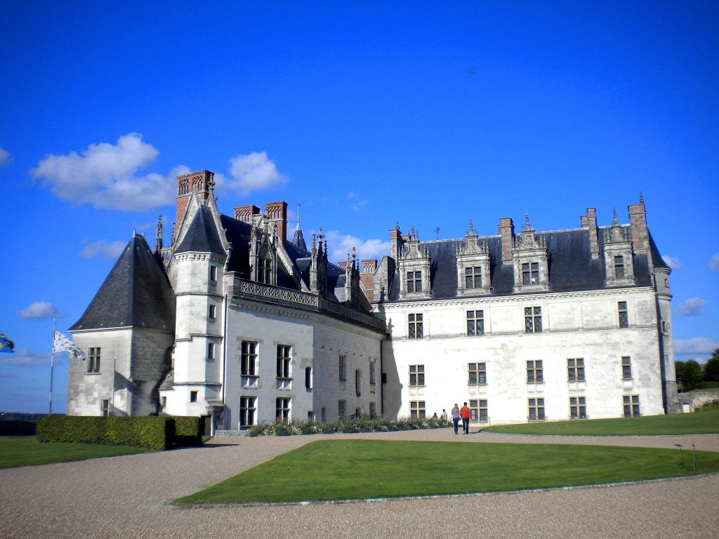 A look at the grounds of the Château d'Amboise.