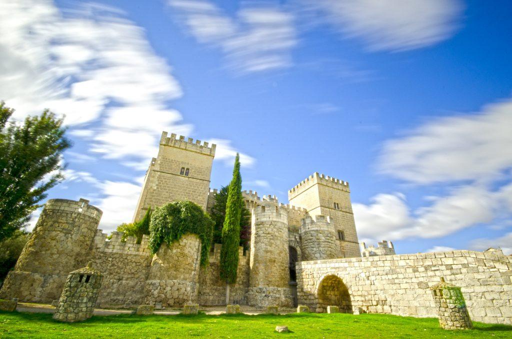 The scenic view of Castillo Amapudia.